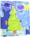 """Christmas Tree""  M. Komova, 2008"