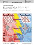 Para–Ferroelectric Transition in MOFs